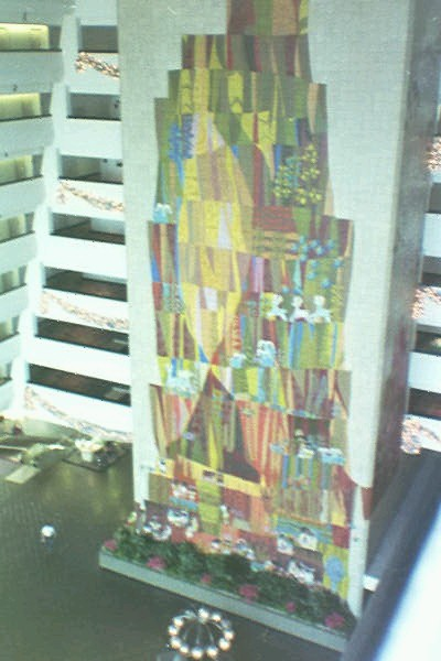 Disney world vacation for Contemporary resort mural
